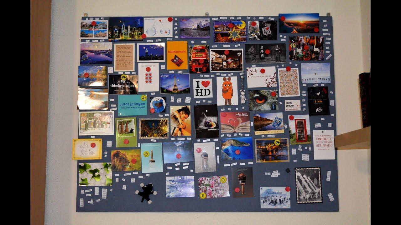diy magnet board magnettafel youtube. Black Bedroom Furniture Sets. Home Design Ideas