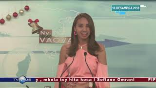 VAOVAO DU 10 DECEMBRE 2018 BY TV PLUS MADAGASCAR