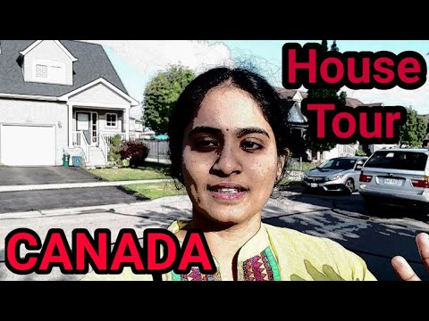 Our House Tour In Canada| NRI House Tour In Canada| Telugu Vlos