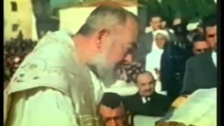 Missa celebrada por São Pio de Pietrelcina