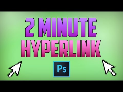 Photoshop CC : How To Create A Hyperlink