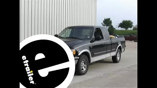 Fifth Wheel Trailer Hitch Installation - 1998 Ford F-150 and F-250 Light Duty