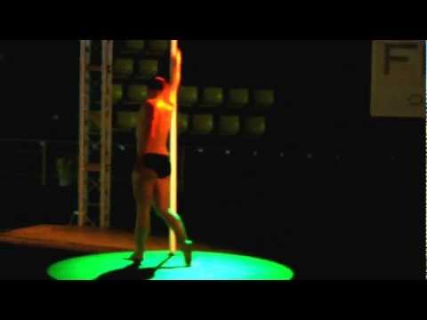 MISTER POLE DANCE ESPAÑA,campeonato de pole sport 2012,Denis Terrones