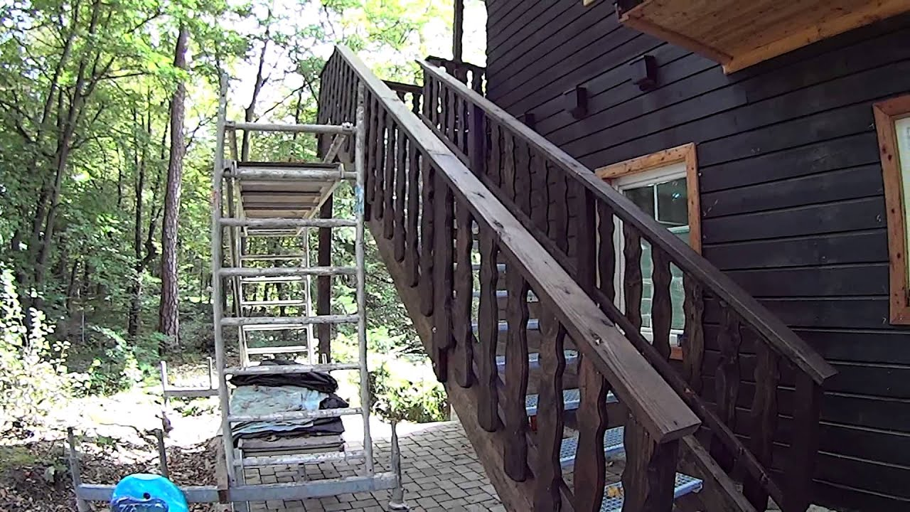 Außentreppe Holz Mit Podest. Au Entreppe Holz Mit Podest Ra35