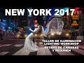 New York Lighting Workshop 2017, Resumen y detrás de cámaras