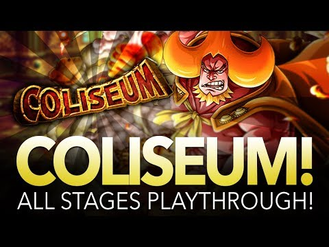 COLISEUM OVEN! STAGES 1 - 3 PLAYTHROUGH! (ONE PIECE Treasure Cruise)