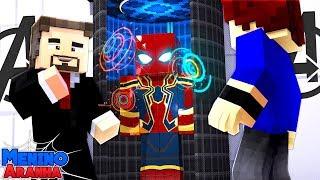 Minecraft: MENINO ARANHA - NOVA ATUALIZAÇÃO DA MINHA ARMADURA!!! #246