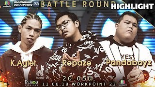 K Aglet vs Repaze vs Pandaboyz | THE RAPPER
