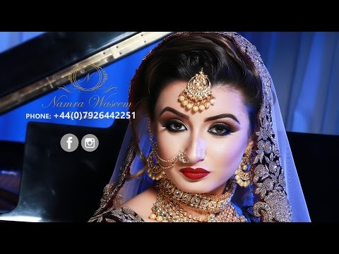 Asian Bridal Makeup 2017 | Namra Waseem Bridals