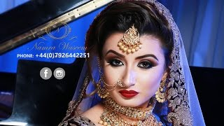 Asian Bridal Makeup 2017 | Namra Waseem Bridals