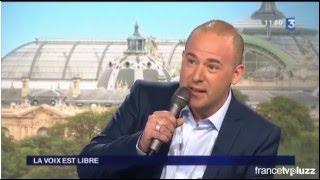 Passage télé Mathieu Salama contre-ténor sur France 3 émission la voix est libre