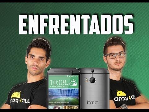 Enfrentados por el HTC One m8