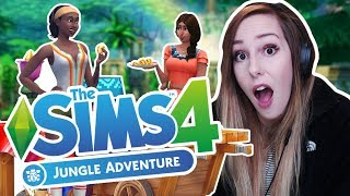 THE NEW SIMS GAME PACK! The Sims 4: Jungle Adventure | Trailer Review