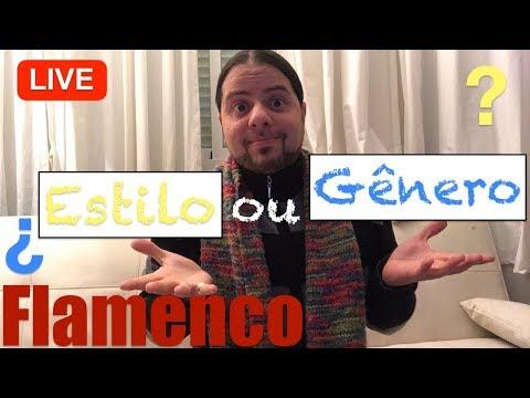 LIVE desde Madrid!!! Flamenco 💃🏽 : Gênero ou Estilo???
