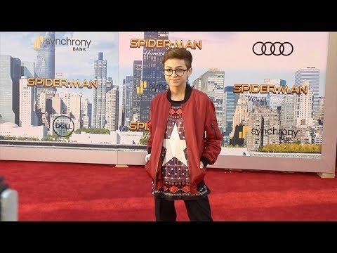 "J.J. Totah ""Spider-Man: Homecoming"" World Premiere Red Carpet"