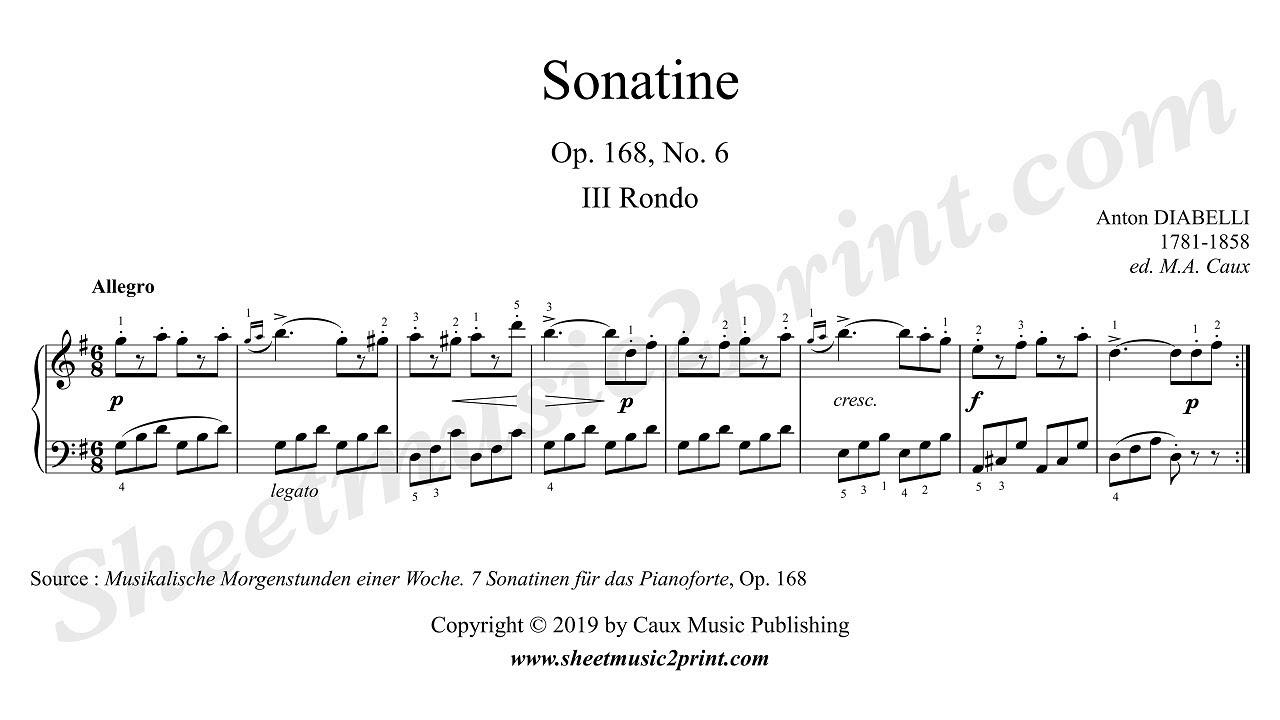 Sonatina No. 2 in G Major, Op. 163, No. 8