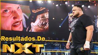 Samoa Joe Busca VENGANZA contra El Campeón Karrion Kross: RESULTADOS De NXT 20 De Julio De 2021