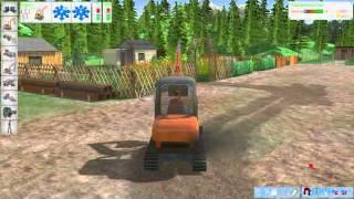 PC Digger Simulator 2011 3D video game trailer - PC