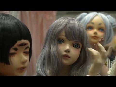 شاهد: دمى حية تشارك في معرض طوكيو للفنون  - نشر قبل 2 ساعة