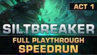 Dota 2 Worlds Fastest Speedrun of Siltbreaker: Act 1