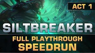 Dota 2 Full Playthrough Speedrun of Siltbreaker: Act 1