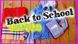Back to School Clothing Haul 2014 Thumbnail