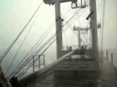 Storm wave in south china sea. Effendi M N02 Ami M