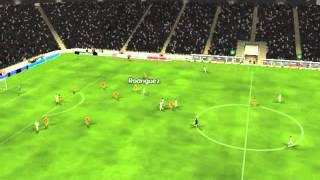 R. Madrid - Valencia - Gol de Rodr�guez 78 minutos