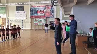 Церемония награждения призёров открытого турнира в Спасске-Дальнем