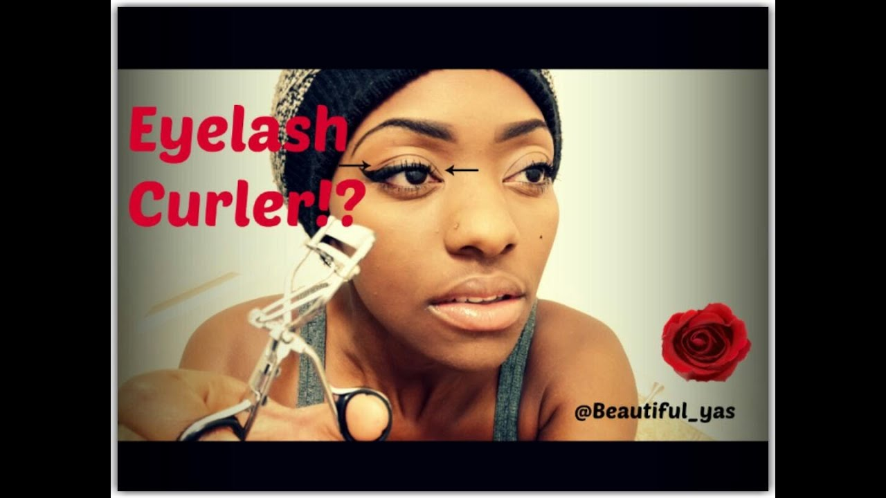 How To Use An Eyelash Curler The Professional Way Youtube