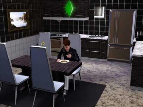 Los sims 3 la casa mas bonita interiores youtube for Casa moderna los sims 3
