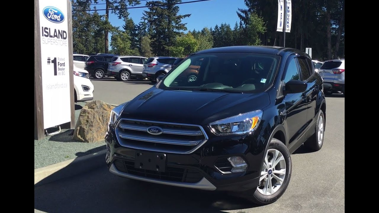 2017 Ford Escape Se Auto Start Stop Technology Review Island