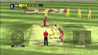 Ashes 2009 T20 Gameplay XBOX 360