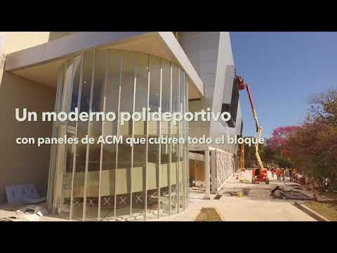 TECNOEDIL S.A. - Obra Polideportivo Secretaría Nacional de Deportes 10.08.18