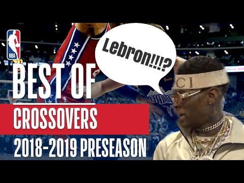 Live Reactions to NBA crossovers + ankle breakers!!! l 2018- 2019 edition