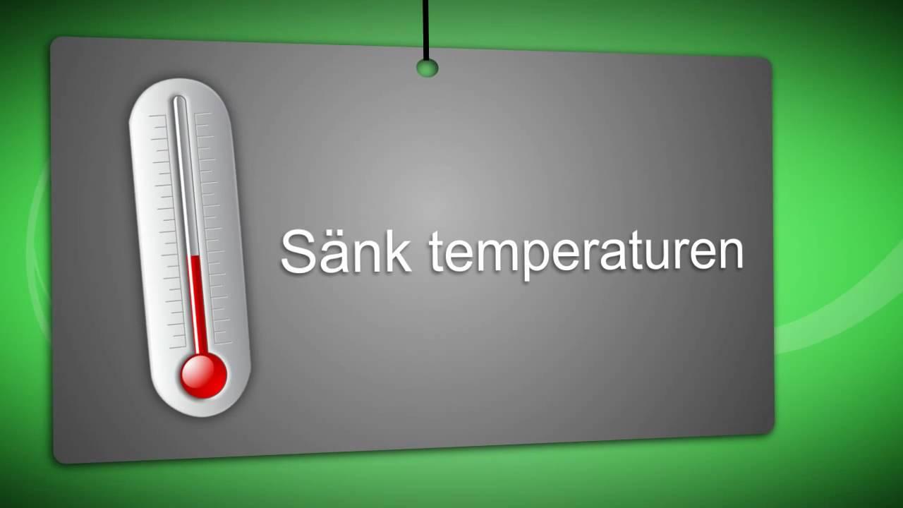 Behåll värmen - spara energi! - YouTube
