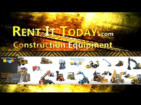 Construction Equipment Rentals