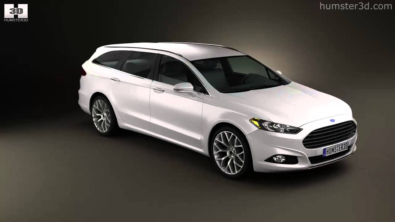 Ford Mondeo Wagon 2013 By 3d Model Store Humster3d Com