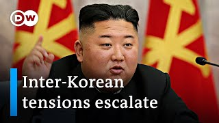 North Korea blows up joint liason office north of South Korean border | DW News
