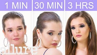 Getting Selena Gomez's Look in 1 Minute, 30 Minutes, and 3 Hours | Beauty Over Time | Allure