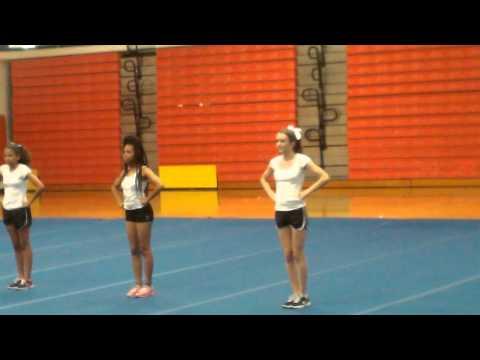 Kelys' Mandarin High School Cheerleader Group tryout