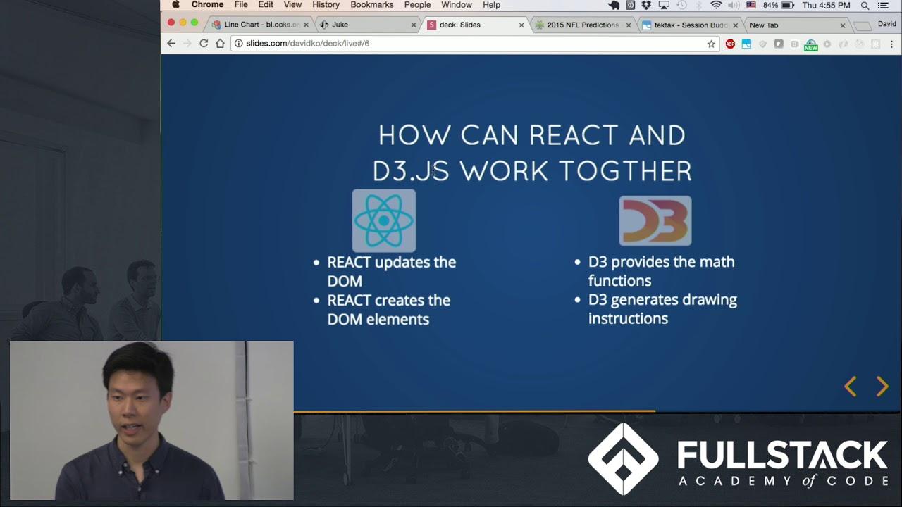D3 js Tutorial - How to use D3 js with ReactJS