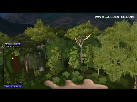 Golden Tee Great Shot on Whispering Valley!