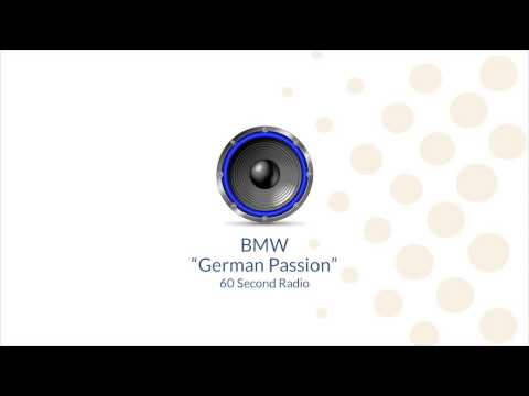 """German Passion"" Radio - BMW of Arlington"