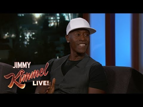 Don Cheadle Ate Worms & Bear Repellent