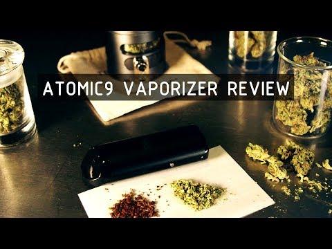 Atomic9 Dry Herb Vaporizer Review