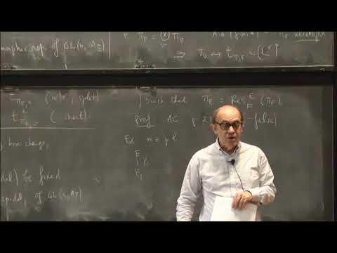 Solvable descent for cuspidal automorphic representations of GL(n)' - Laurent Clozel