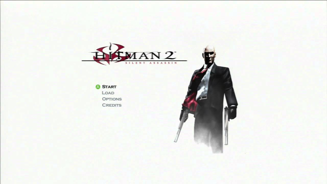 Hitman 2 Silent Assassin Hd Trilogy Title Screen Youtube