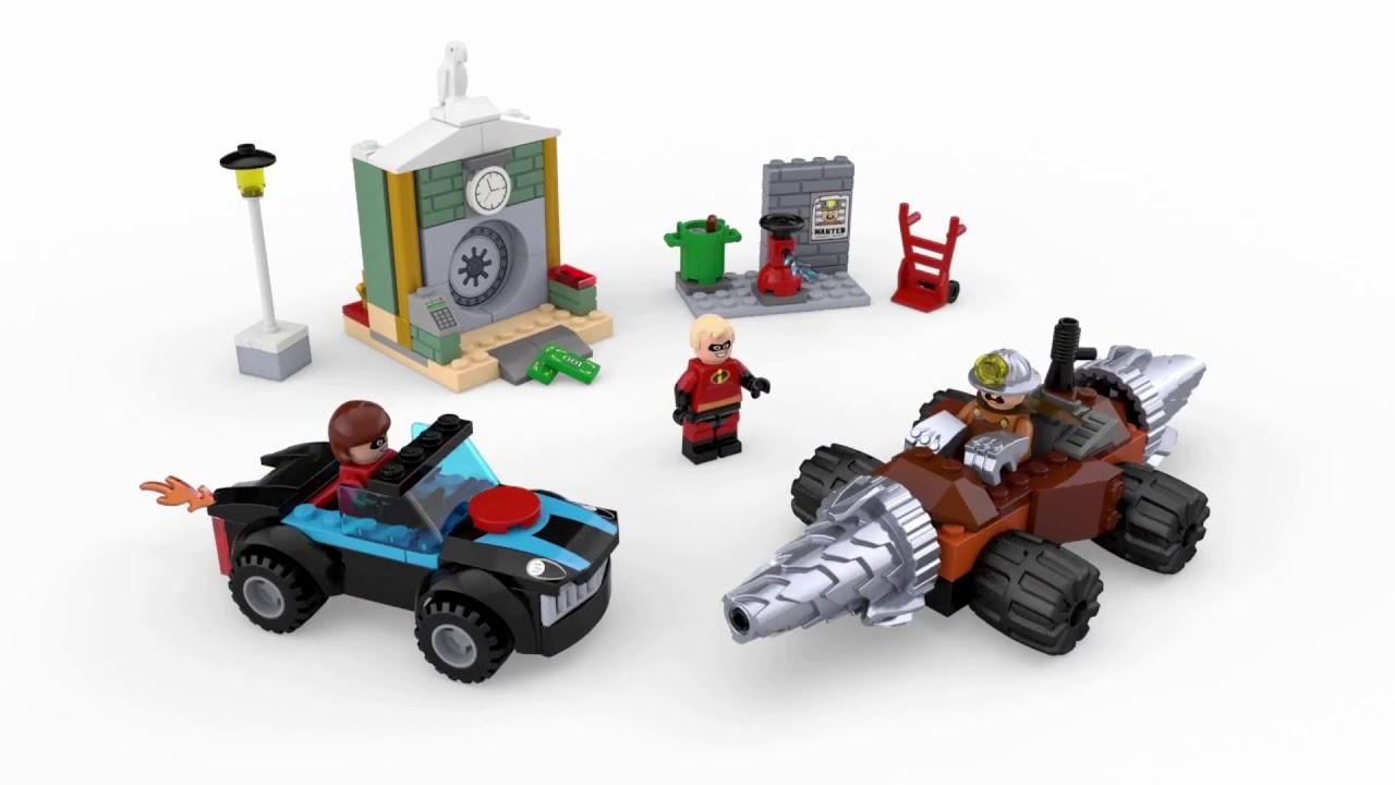 LEGO Juniors//4 The Incredibles 2 Underminer Bank Heist 10760