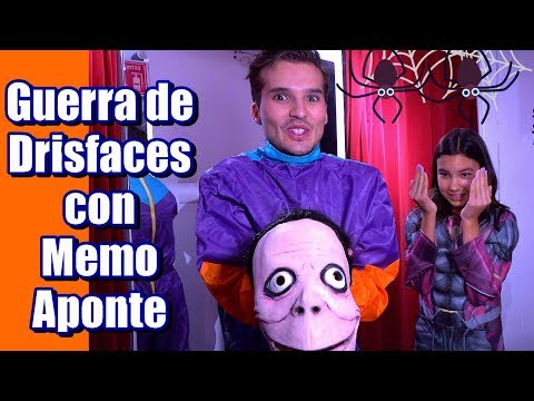 10 DISFRACES para HALLOWEEN con MEMO APONTE | AnaNana Toys